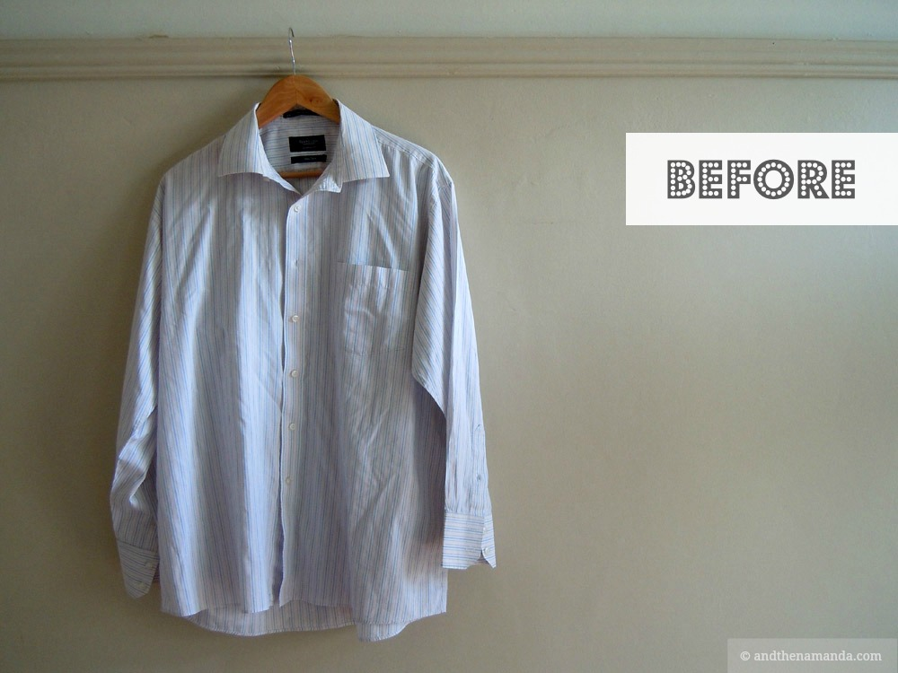 Shirt to skirt refashion BEFORE with name.jpg
