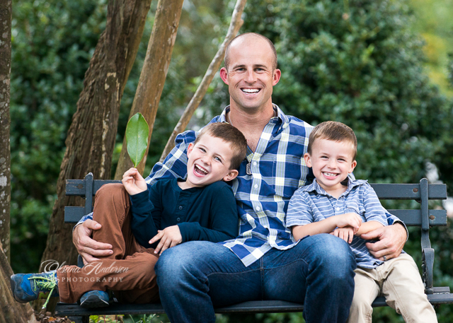 holiday portraits summerville sc