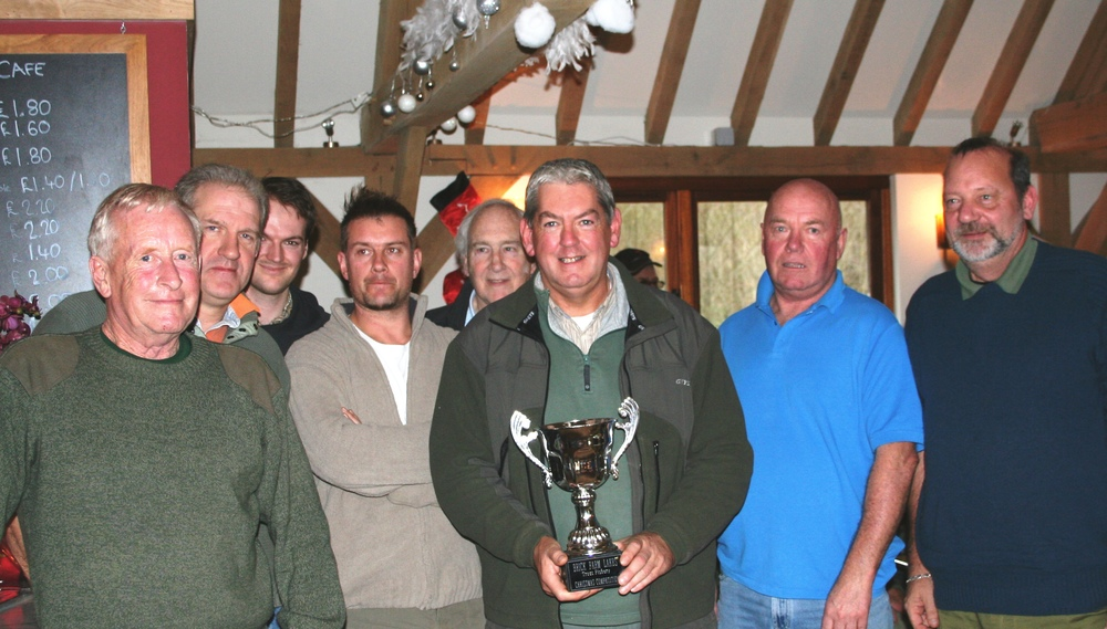 Gents B-team - Winners of the first Brick Farm Christmas Ladies v Gents Competition