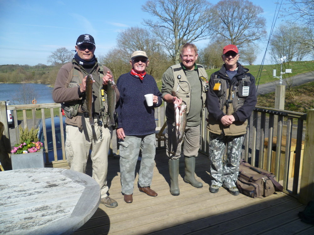 Four of the finalists Troutmasters Senior Competition 12.4.15.JPG