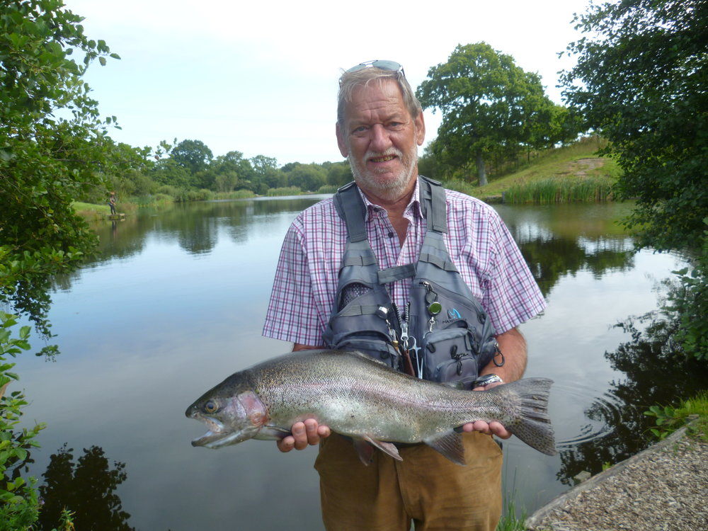 David harris - who says august is a not a good month for fly fishing!!!!