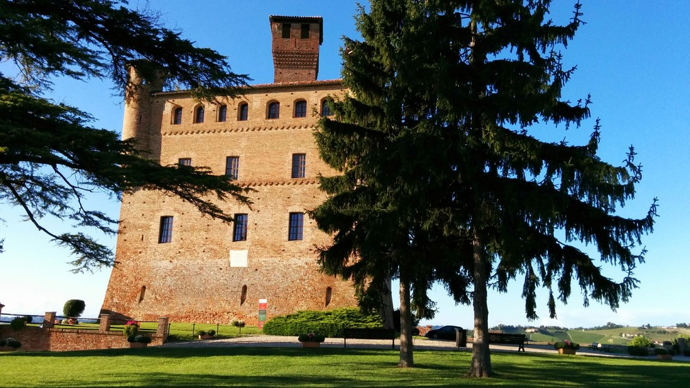 Grinzane Cavour (CN): great views at the Castle in Grinzane Cavour. They also have an amazing selection of Barolo and Barbaresco wines for tasting.