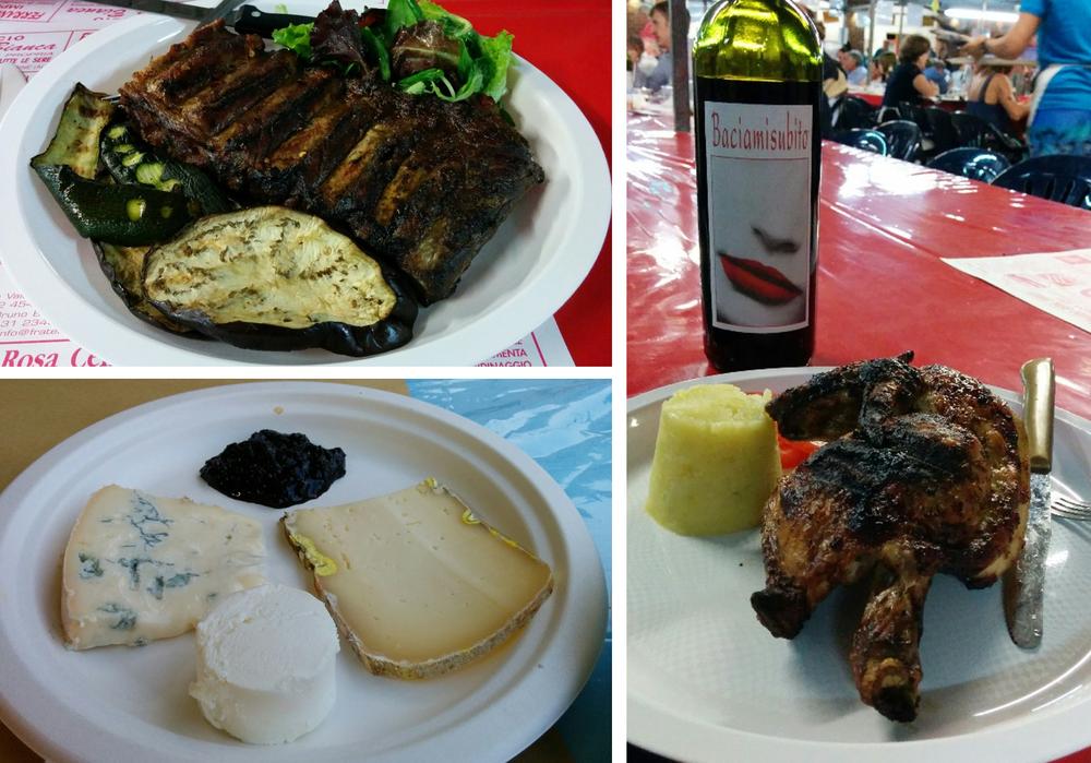 Vignale Monferrato (AL), Fubine (AL): the various food festivals in Monferrato in August