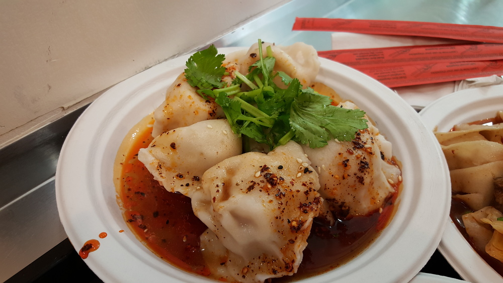 Spicy lamb dumplings