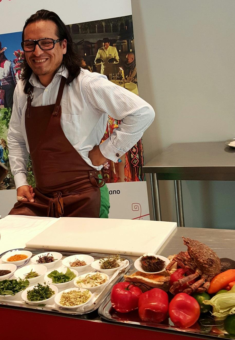 Chef Edgardo Umeres