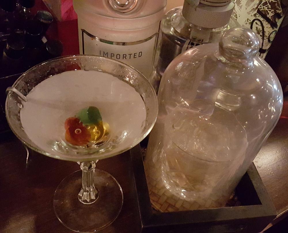 Mondrian e Smoked Martini cocktail