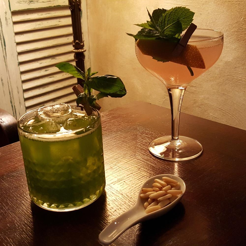 Green snapper e Gin delle cinque