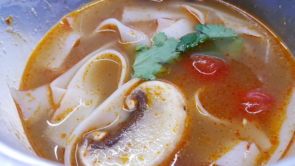 zuppa tom yum (Gong Express)