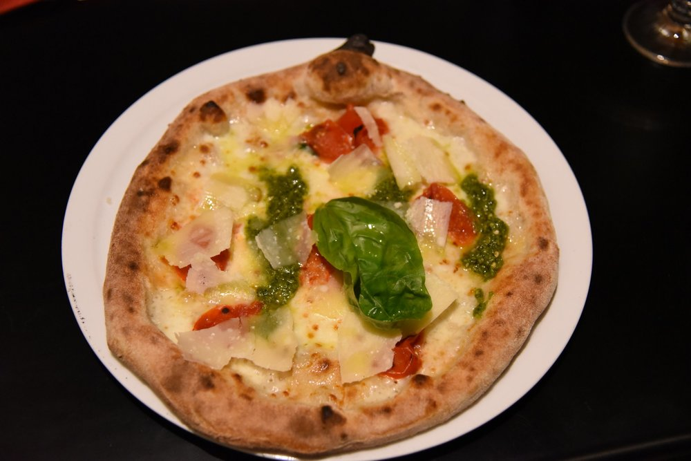 Pizza Ligure (Foto Toney Teddy Fernandez)