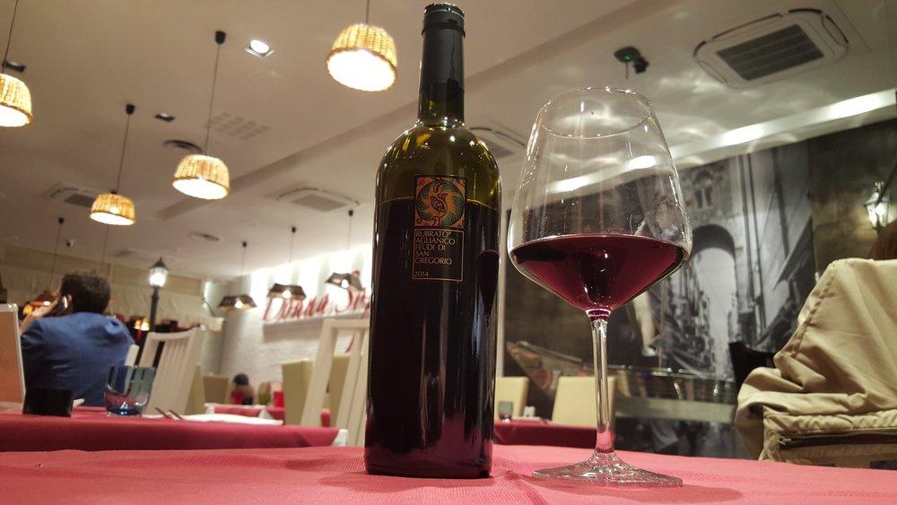 Un ottimo vino della Campania