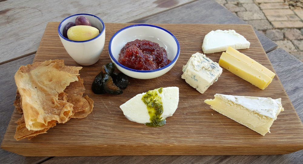 South African cheese plate