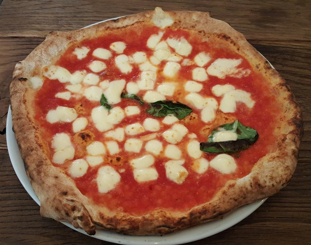The best margherita at Marghe
