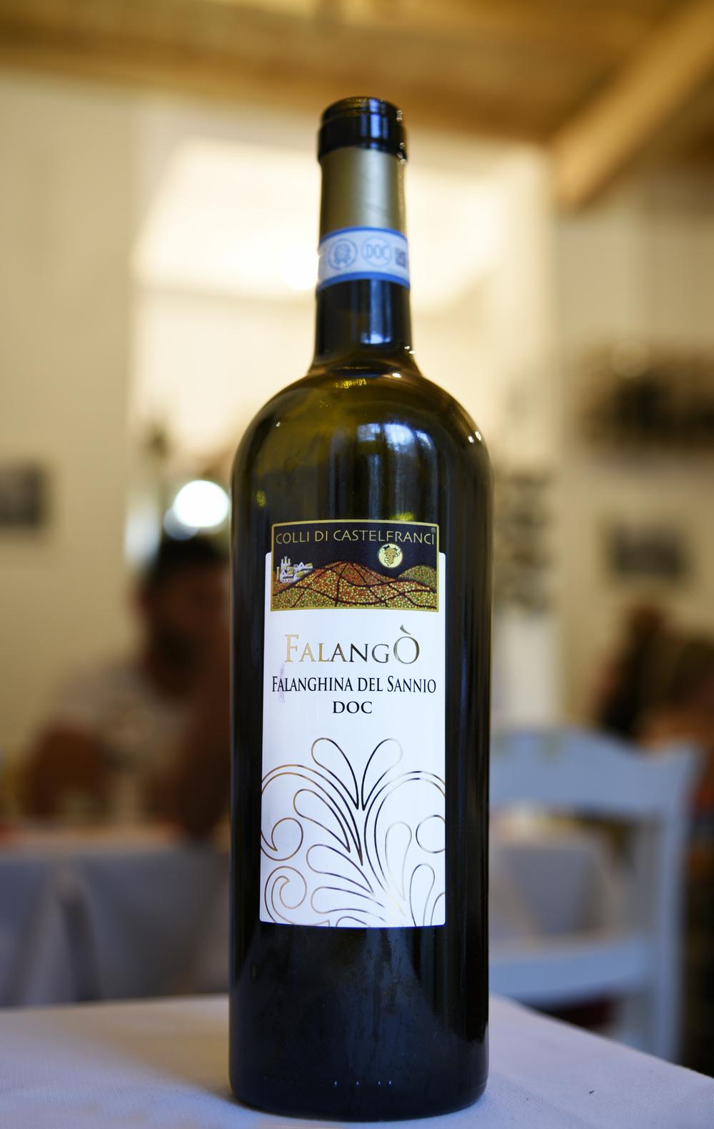 Un ottimo vino bianco