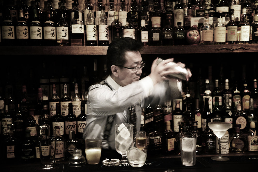 Ueno's hard shake