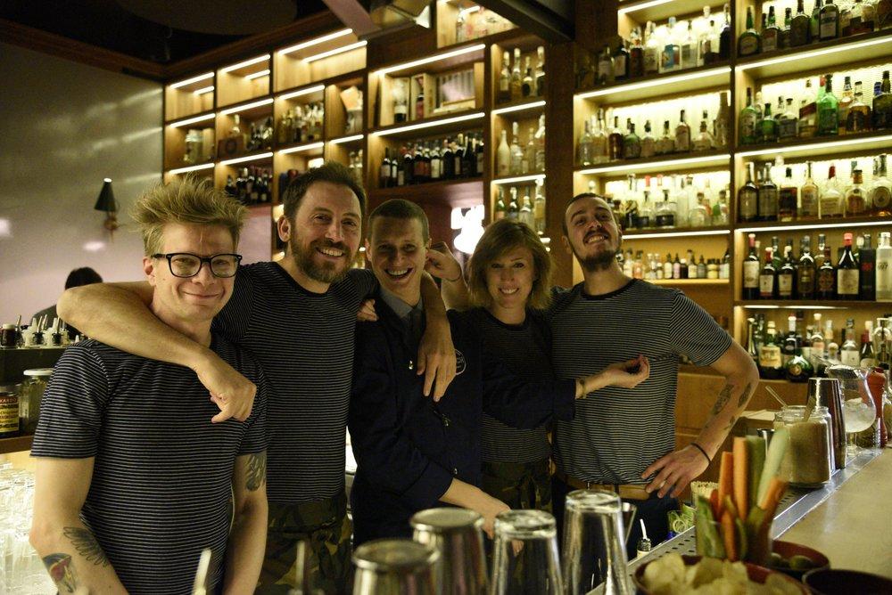 Leo, Edo, Mattia, Chiara, Piero
