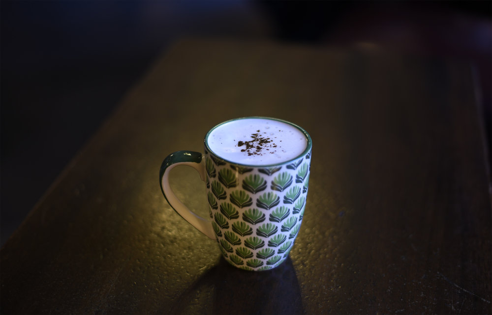 Cappuccinico: tequila silver, kalhua, Cinico foam