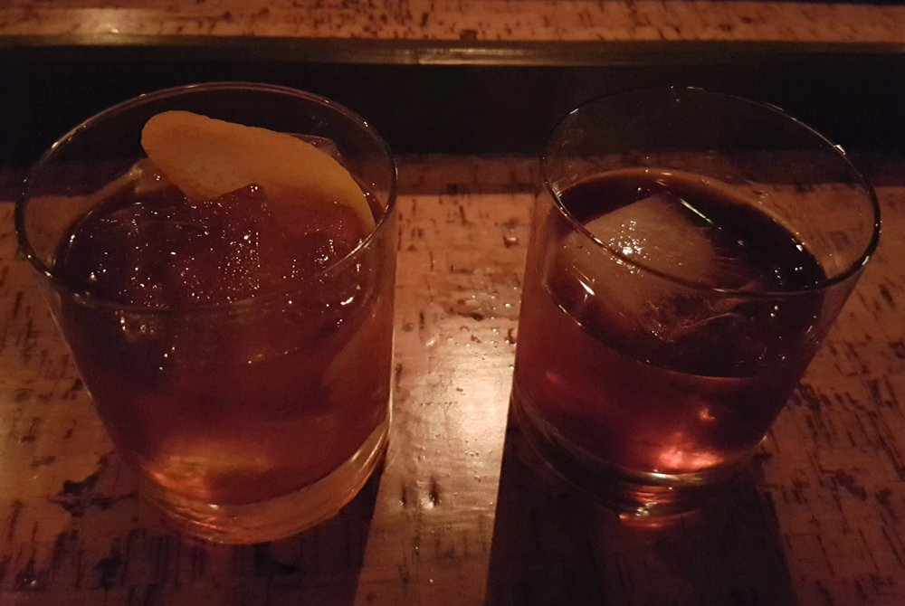Old Fashioned and Monk's Revenge