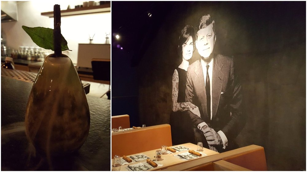 Fallen fruit; JFK at OoM