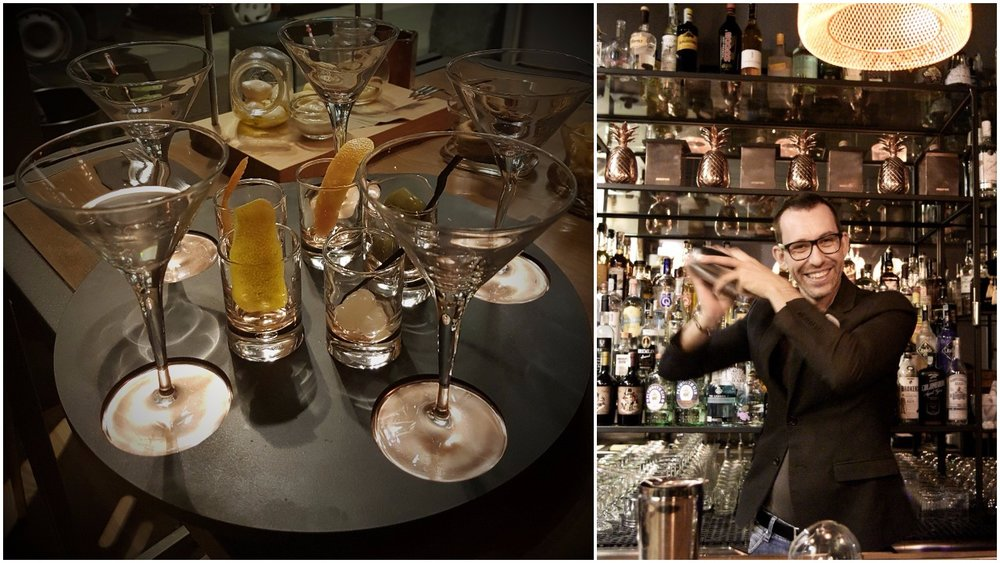 The first sip, 5 times at .drinc Milano