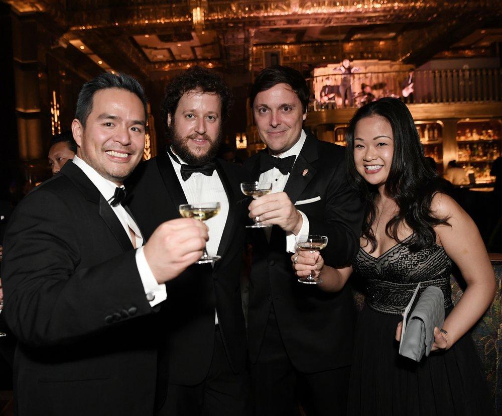 Leo, Shane, Paul e Sabrina (foto ATLAS)