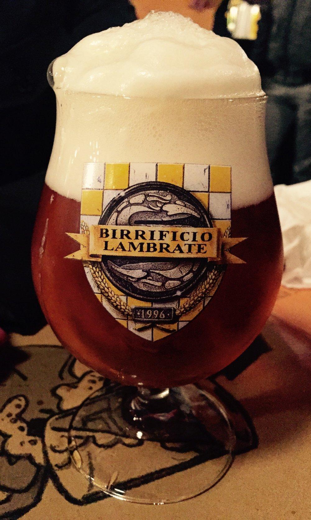 Birrificio Lambrate: Salta-foss, a Belgian style Tripel