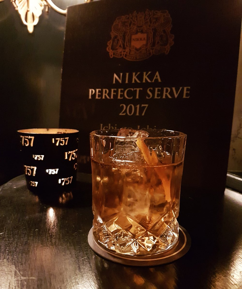 Nikka Old Fashioned