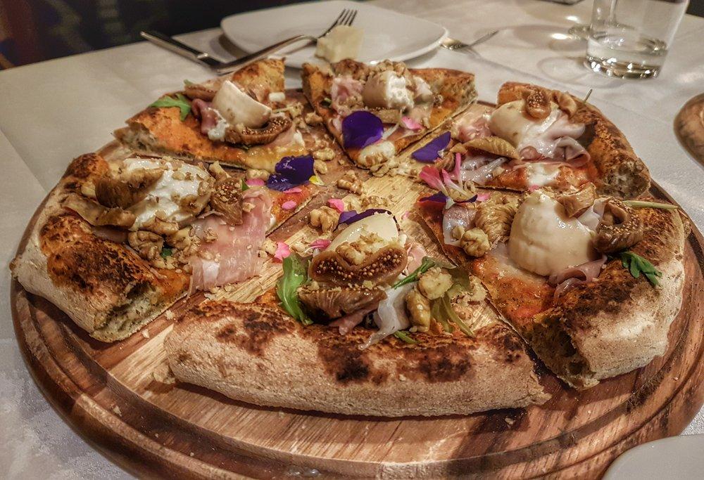 La prima pizza ad arrivare (fuori menù)