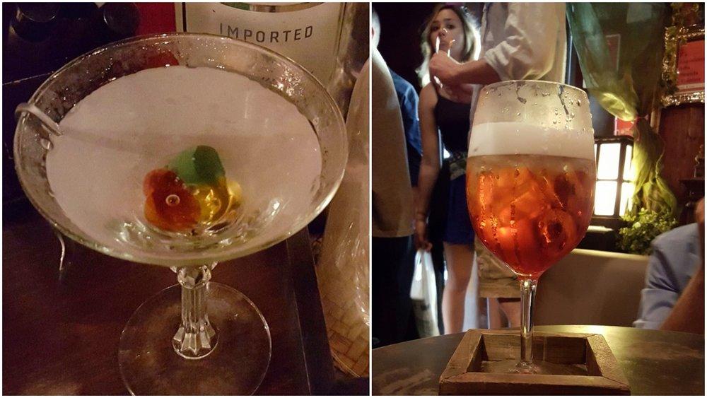 Mondrian Martini and Negroni Vellutato
