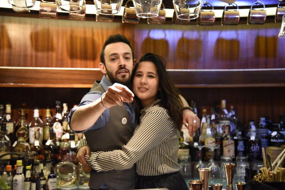 Ricky and Andrea (Photo Toney)