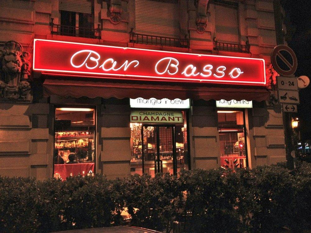 The iconic Bar Basso - Photo  Champ Magazine