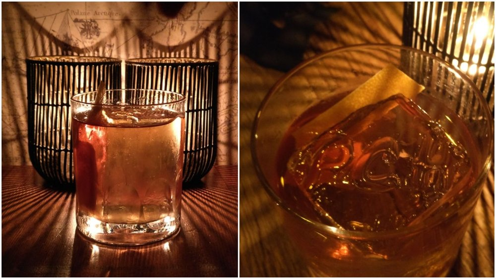 Ultra Magnus and Rittenhouse Old Fashioned