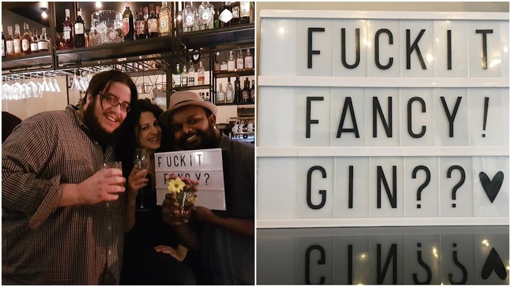Barba  friends: Fuck it Fancy? Photo the following day by  Elisa .
