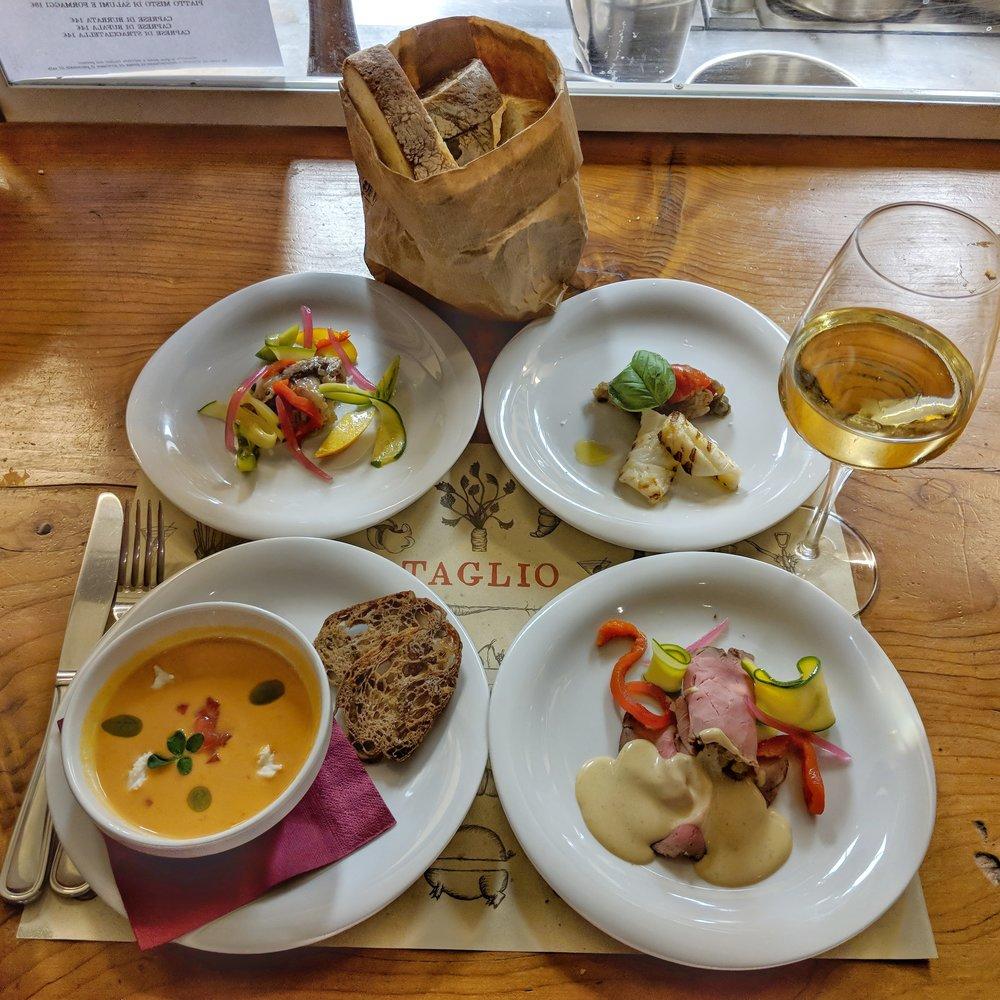 The new aperitivo dishes at  Taglio
