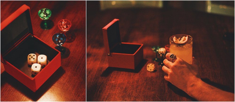 """Piantala"" dice game. Photos by  Anastasia"