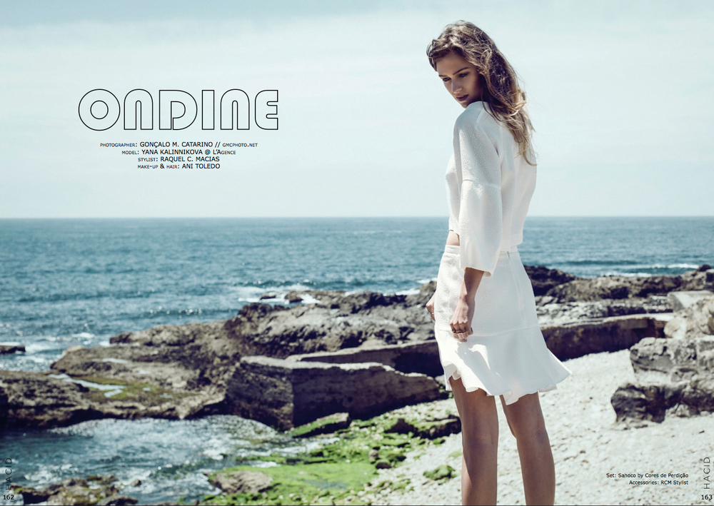 """Ondine"" editorial for HACID Mag (Spain)"