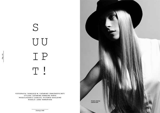 """Suit Up!"" editorial for UMBIGO (Portugal)"
