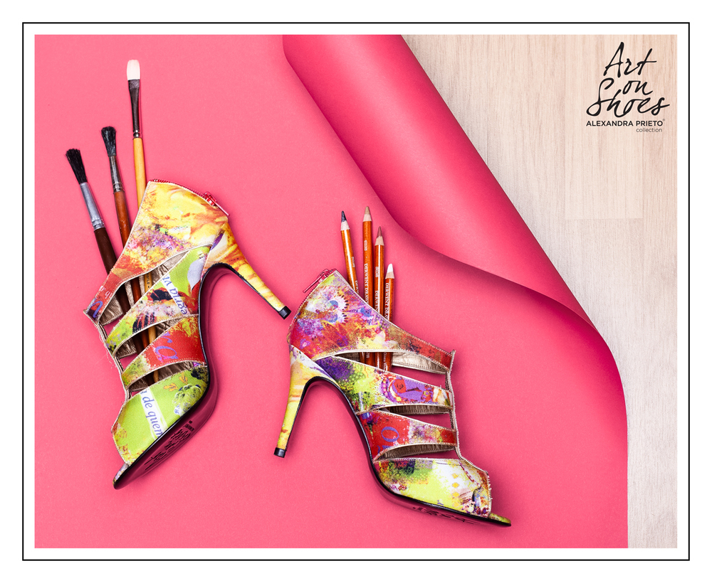 art on shoes campaign