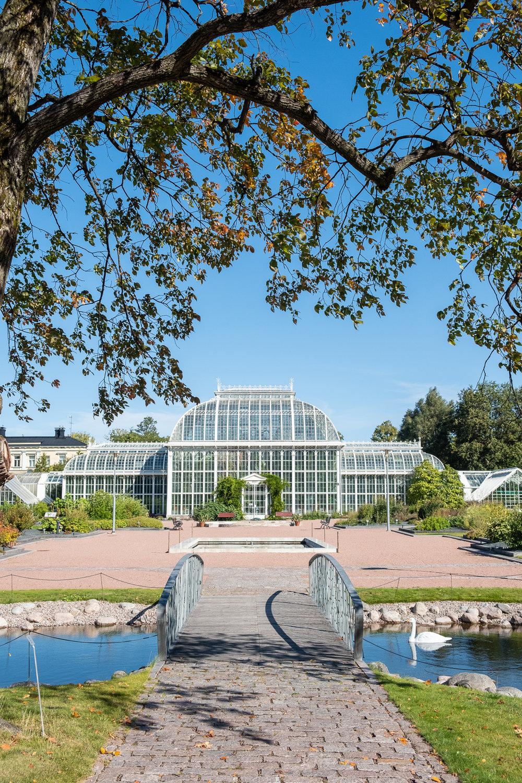 Kajsaniemi - Helsinki's botanical garden