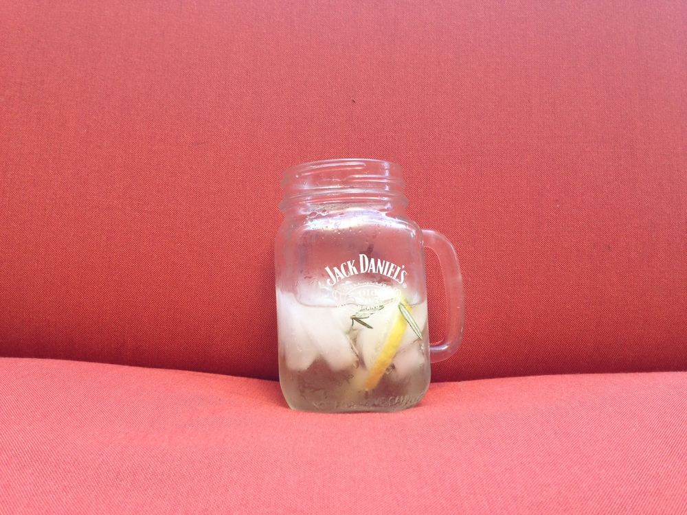 st. germaine in jack daniel's glass