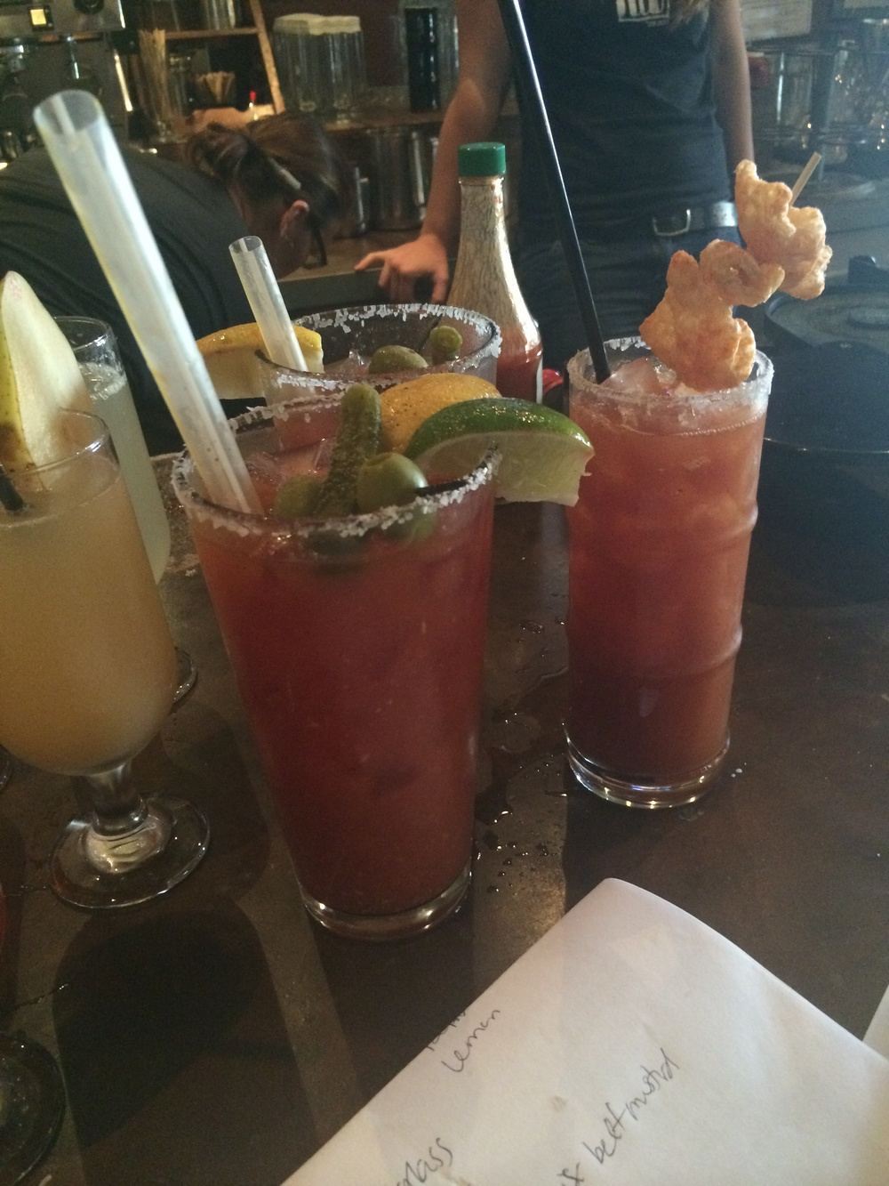 Bloody marys, mimosas, my death