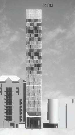 Proposed 89 Avenue Road Development