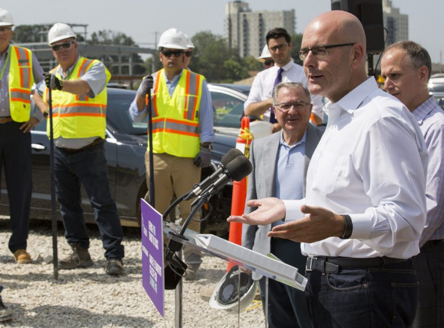Steven Del Duca, Minister of Transportation, is accused of meddling in transit planning to secure approval of new GO transit stops in Kirby and at Lawrence Avenue East.  (ANNE-MARIE JACKSON / TORONTO STAR FILE PHOTO)