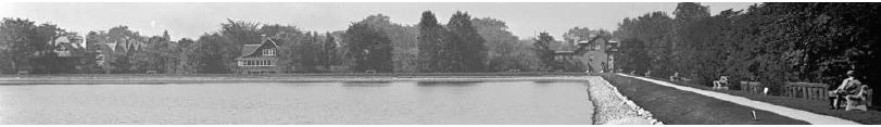 Rosehill Reservoir, 1924 (before the existing covered structure was built)