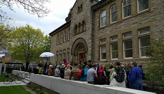 Did you know that for over the last 150 years Toronto has been a world leader in the field of astronomical research, education, and public outreach? This tour introduces the stellar individuals, organizations, and institutions in our city at the forefront of out-of-this-world wonder.