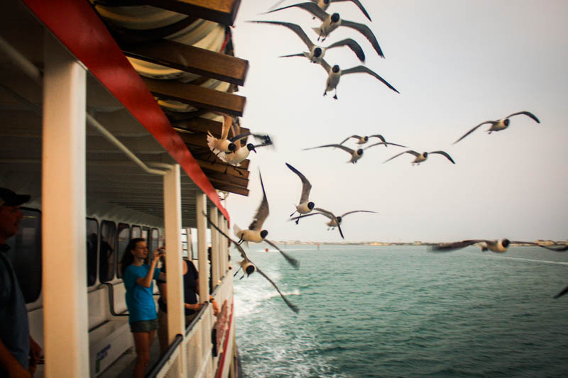 Ferry to Ocracoke Island (2012)