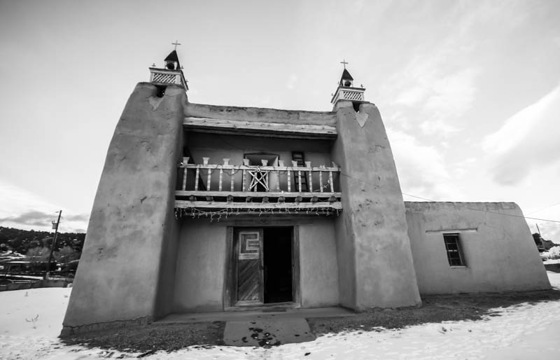 San José de García Church, Trampas, NM (2012)