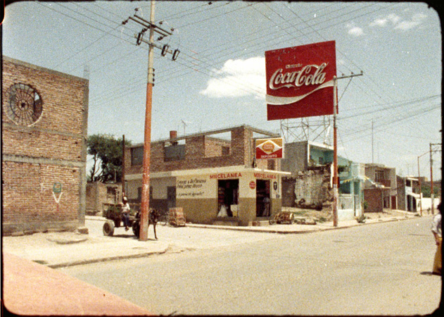 Still from SOMEWHERE BETWEEN JALOSTOTITLAN AND ENCARNACION (Philip Hoffman, 1983).