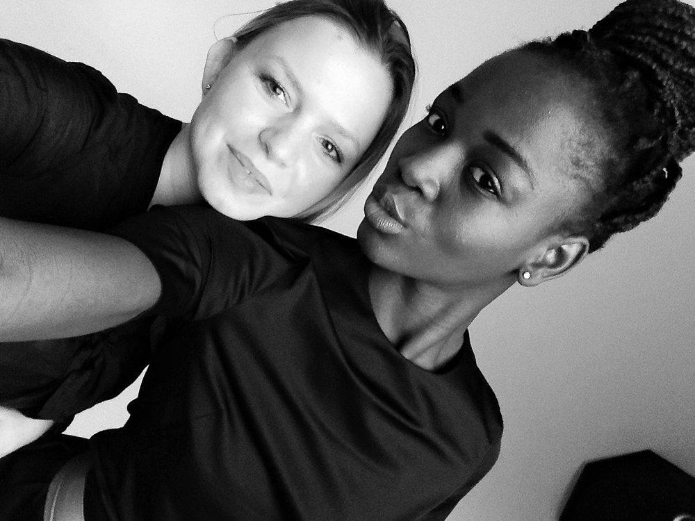 Sesja zdjeciowa dla Agnes Samuel - AMQ Models. Listopad 2016