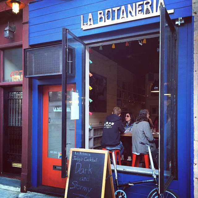Spring Saturdays @ LA BOTANERIA #saturday #spring #botanas #snacks #margaritas #cocktails #labotaneria #parkslope #happyhour #relaxed #bestmargs #margz #coolhunting  #barfood