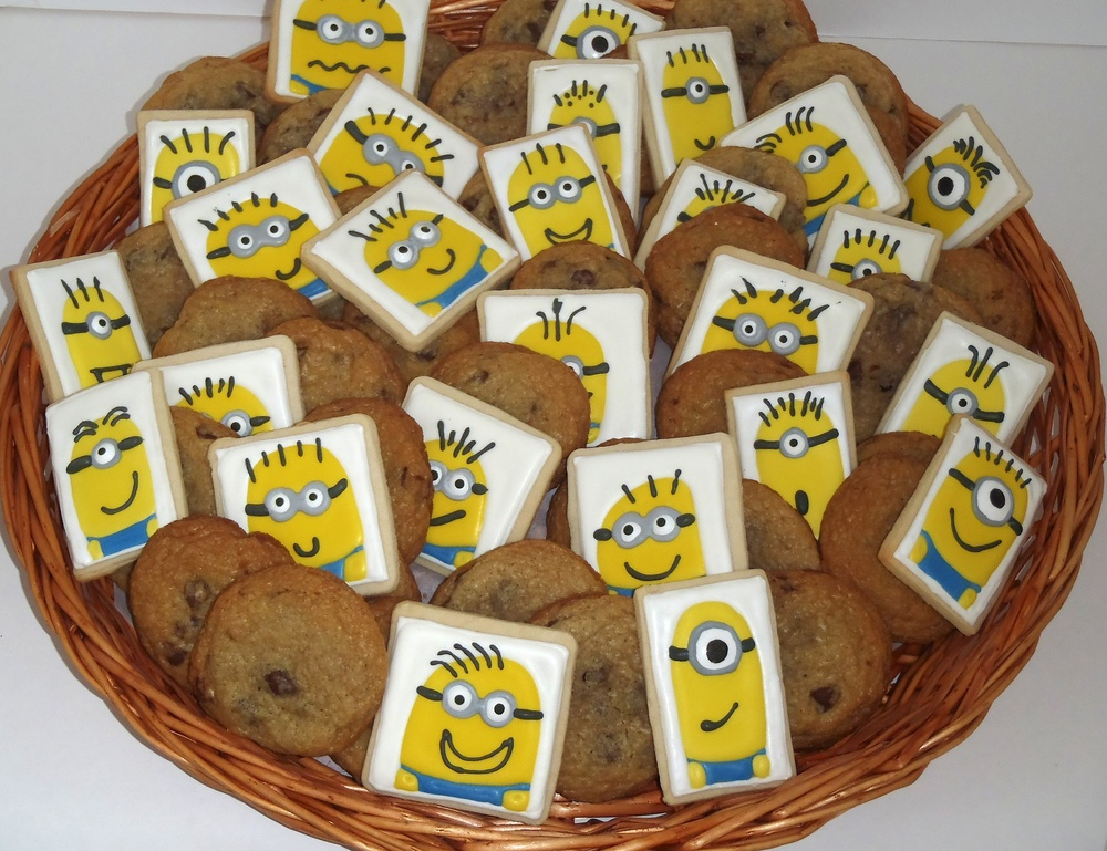 minion cookies for NOMA Family Night where Despicable Me was screened